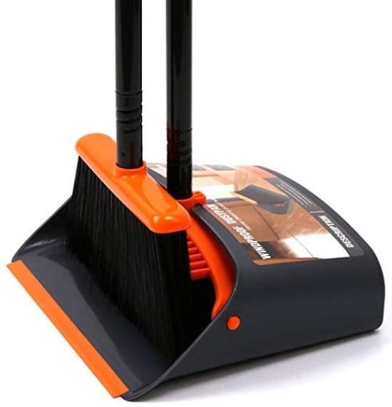 Dust Pan Hardwood Floor Broom