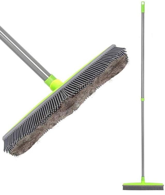 LandHope Push Hardwood Floor Broom