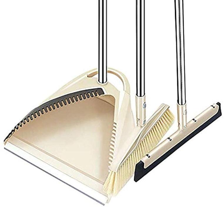 SLC Broom and Dustpan