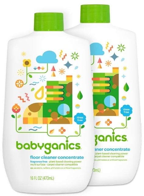 Babyganics Fragrance Free Floor Cleaner