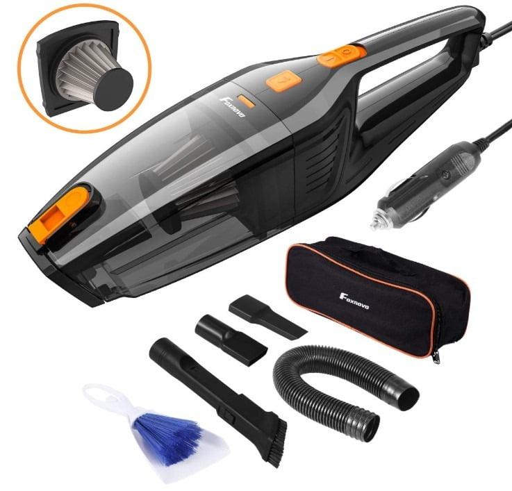 Foxnovo Portable Car Vacuum Cleaner
