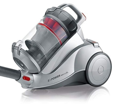 Severin Corded Bagless Canister Vacuum Cleaner