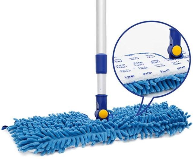 "JINCLEAN Pet 18"" Microfiber Floor Mop"