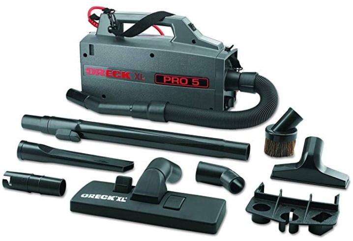 Oreck Commercial Compact Canister Vacuum