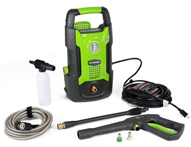 Greenworks 1500 Pressure Washer
