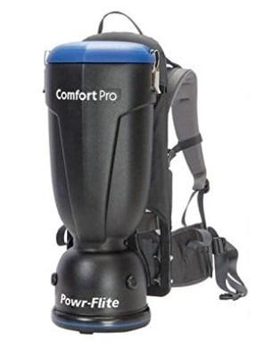 Powr-Flite BP10S ComfortPro Backpack Vacuum