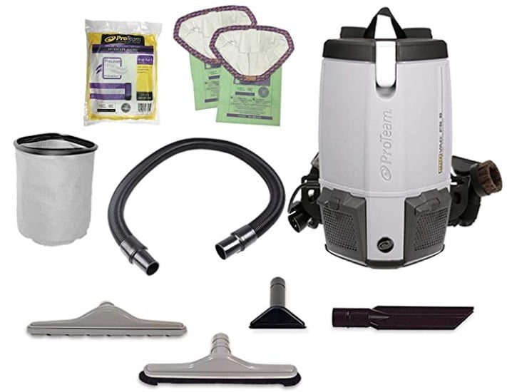ProTeam FS Commercial Corded Backpack Vacuum